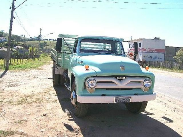 ford 1961 f600 camion: