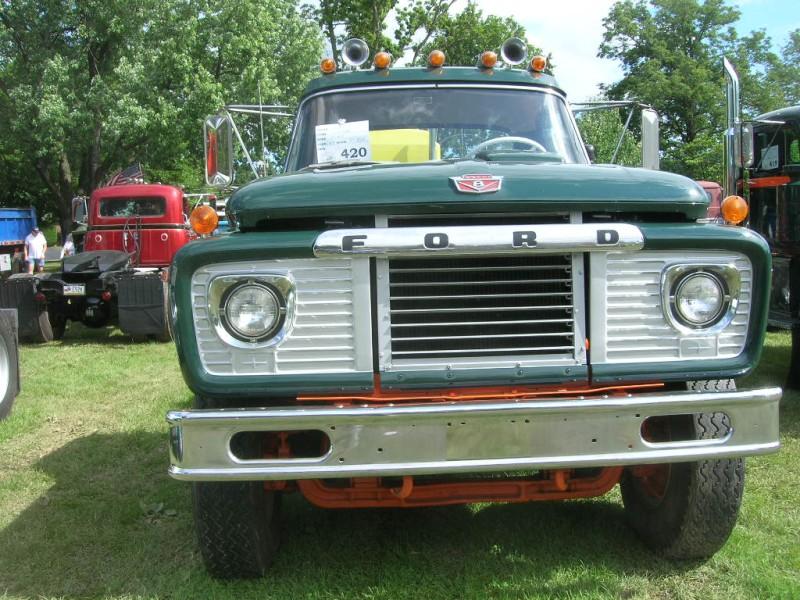 Ford on gmc autocar trucks