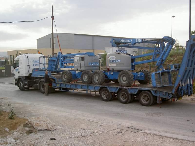 Les porte chars for Porte char 60 tonnes